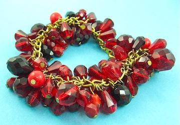Red cha cha bracelet