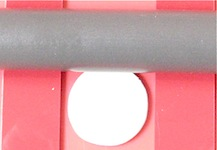 using roller to flatten metal clay