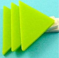fiber paper under triangles
