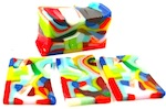 glass fused pattern bar strips