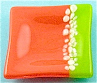Fused Art Glass Dish