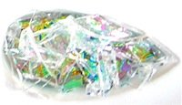 dichroic glass filled glass mold