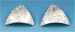 draped pmc earrings